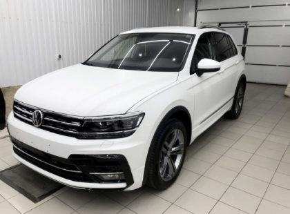 Защита кузова нового VolkswagenTiguan